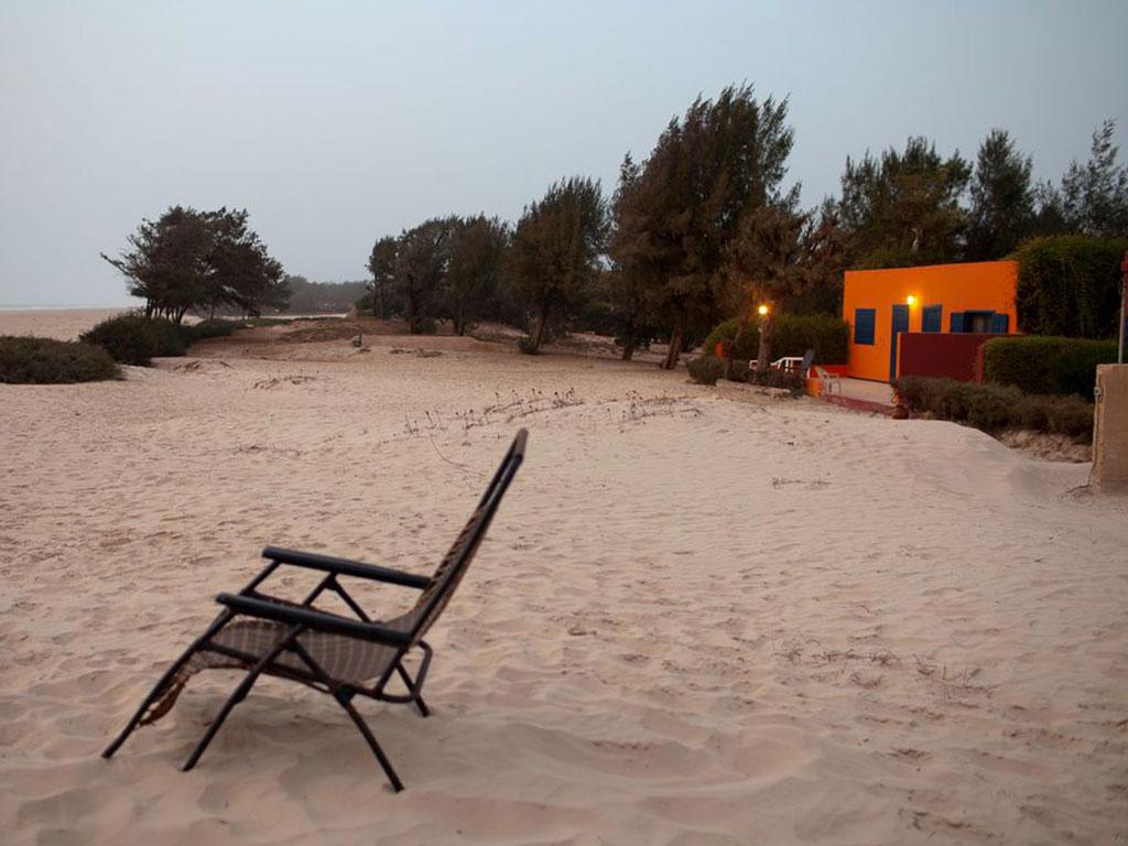 Le Mermoz côté plage